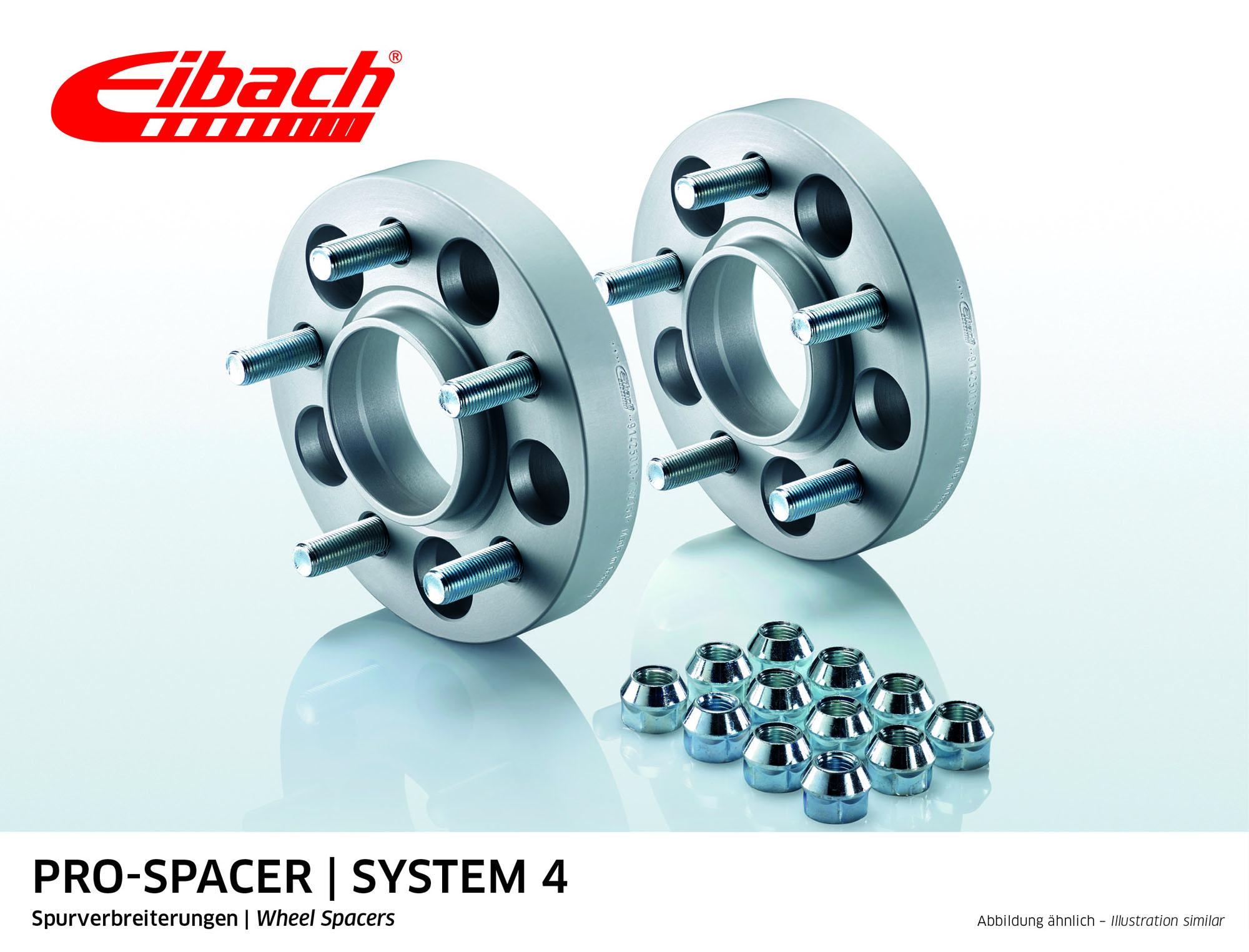eibach pro spacer kit 15mm per spacer system 4 s90 4 15 002 eibach suspension eibachshop. Black Bedroom Furniture Sets. Home Design Ideas
