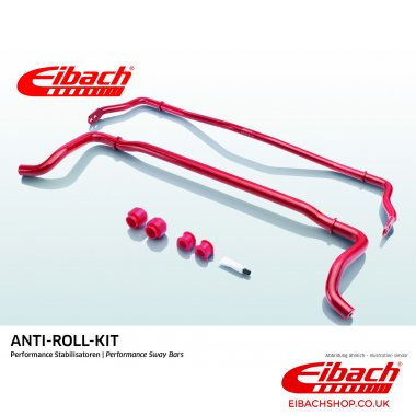 Eibach Anti-Roll Bar Kit 26mm Front 18mm Rear E40-10-001-01-11