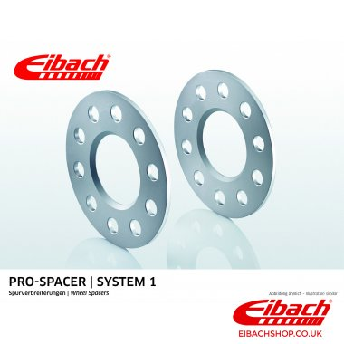 Eibach Pro-Spacer Kit (Pair Of Spacers) 8mm Per Spacer (System 1) S90-1-08-002