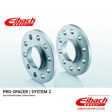 Eibach Pro-Spacer Kit (Pair Of Spacers) 10mm Per Spacer (System 2) S90-2-10-038
