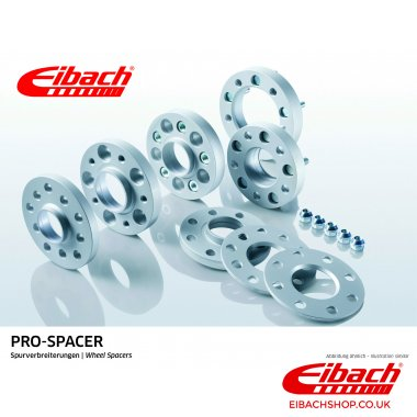 Eibach Pro-Spacer Kit (Pair Of Spacers) 25mm Per Spacer (System 8) S90-8-25-001