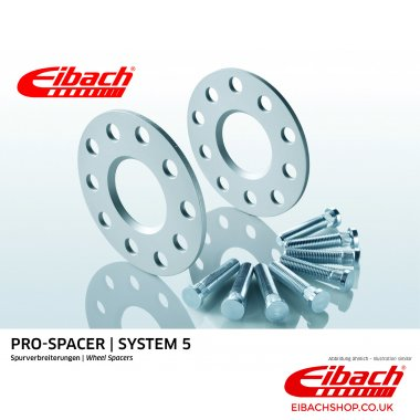 Eibach Pro-Spacer Kit (Pair Of Spacers) 5mm Per Spacer (System 5) S90-5-05-008