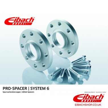 Eibach Pro-Spacer Kit (Pair Of Spacers) 10mm Per Spacer (System 6) S90-6-10-005