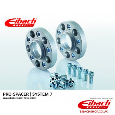 Eibach Pro-Spacer Kit (Pair Of Spacers) 25mm Per Spacer (System 7) S90-7-25-001