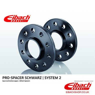 Eibach Pro-Spacer Kit (Pair Of Spacers) 12mm Per Spacer (System 2) S90-2-12-004-B