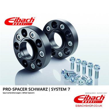 Eibach Pro-Spacer Kit (Pair Of Spacers) 25mm Per Spacer (System 7) S90-7-25-032-B